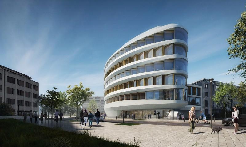 Immeuble administratif anderegg rinaldi architectes gen ve - Bureau architecte geneve ...