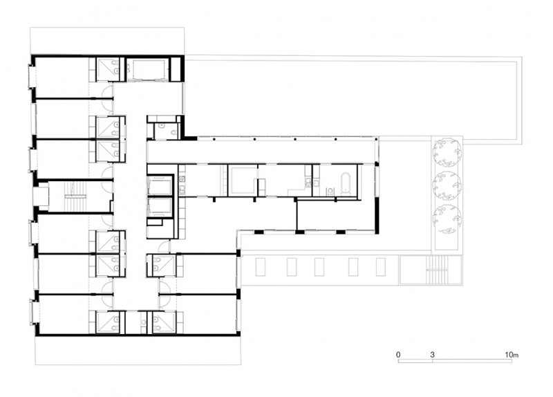 ems notre dame de la compassion anderegg rinaldi architectes gen ve. Black Bedroom Furniture Sets. Home Design Ideas