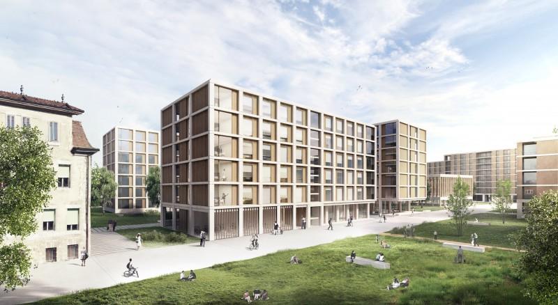 Concours d 39 architecture anderegg rinaldi architectes gen ve - Bureau architecte geneve ...